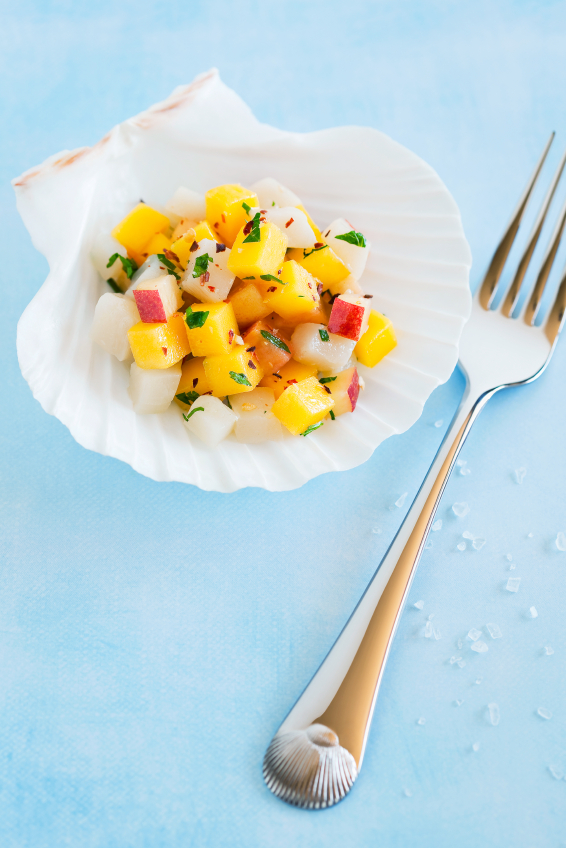 ceviche nectarines