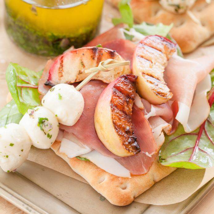Sandwich nectarine