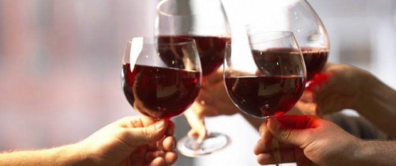 vin rouge ete