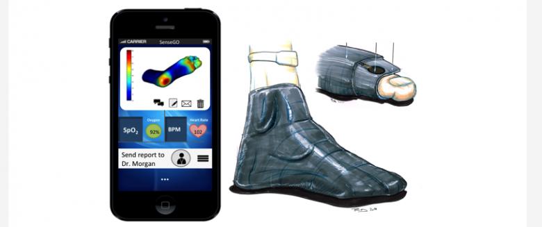 Neuropathie diabétique : des chaussettes intelligentes pour mieux gérer les symptômes