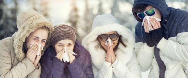 Un temps froid et sec, facteur de risque de la grippe et des infections respiratoires