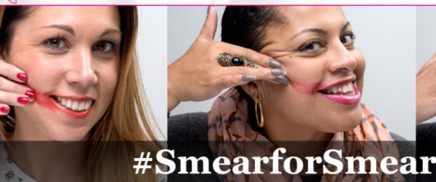 #SmearforSmear : les réseaux sociaux se mobilisent contre le cancer du col de l'uétrus